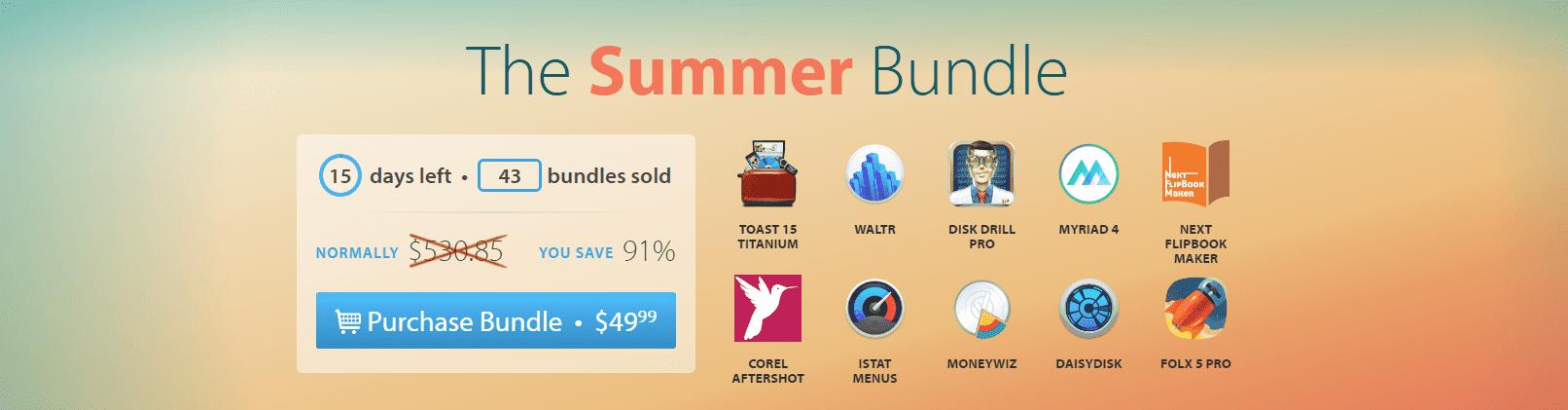 macupdate The Summer Bundle