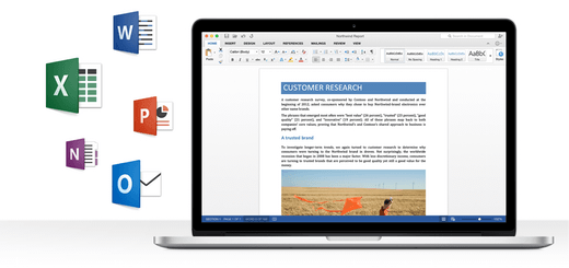 Preview Office 2015 dostępny na maka