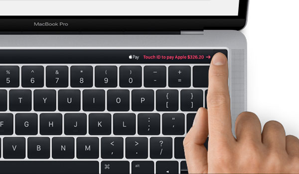 MacBook Pro 2016 Touch ID OLED